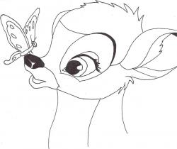 Drawn bambi