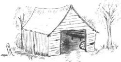 Drawn barn