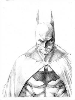 Drawn robin superhero