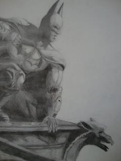 Drawn batman