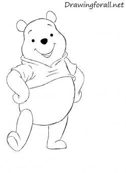 Drawn amd winnie the pooh