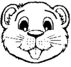Beaver clipart face