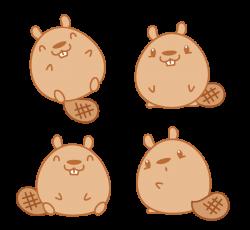 Beaver clipart chibi