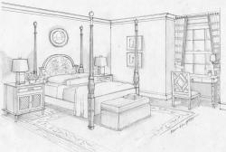 Drawn amd bedroom