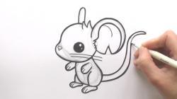 Drawn mice cute