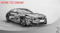 Drawn vehicle bmw