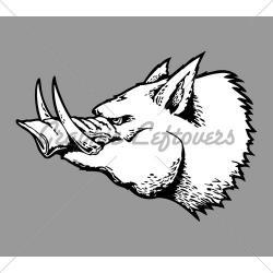 Drawn boar industrial