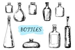 Drawn bottle