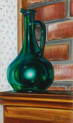 Drawn glass lee hammond