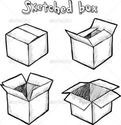 Drawn box