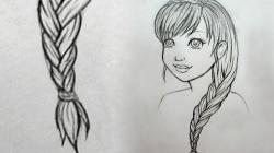 Drawn braid