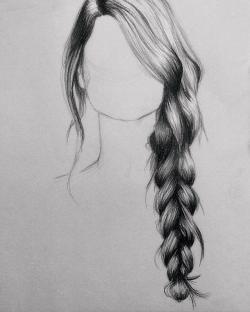 Drawn braid sketched