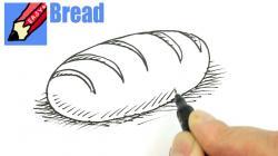 Drawn bread