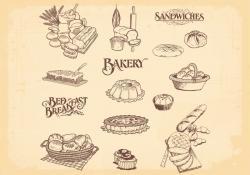 Drawn bread bakery