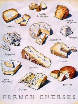 Drawn bread french cheese