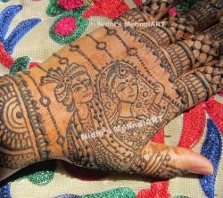 Drawn mehndi bridal mehndi