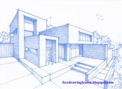 Drawn hosue modern