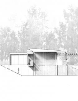 Drawn bulding  architecture portfolio