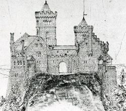 Drawn castle