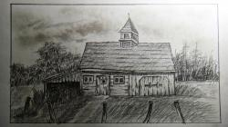 Drawn hosue farm house