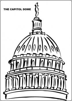 Dome clipart black and white