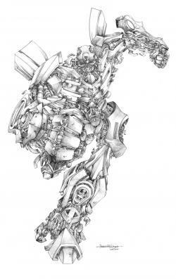 Drawn transformers Drawing Transformers Bumblebee