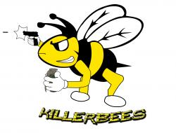 Pollination clipart killer bee