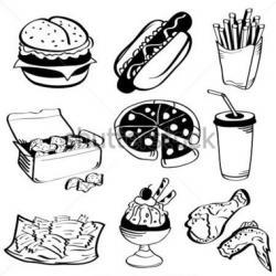 Drawn pizza google image