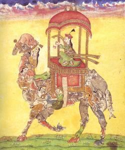 Drawn camel rajasthan camel