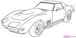 Drawn vehicle corvette