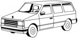 Drawn vehicle drawing