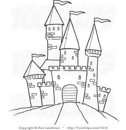 Drawn castle