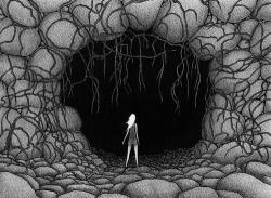 Drawn cave