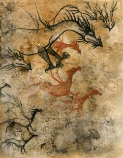 Drawn cavern dragon