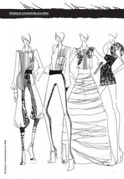 Drawn fashion rough