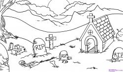 Drawn graveyard