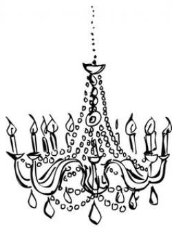 Drawn chandelier