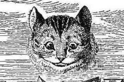 Drawn cheshire cat original