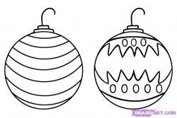 Drawn decoration ornament