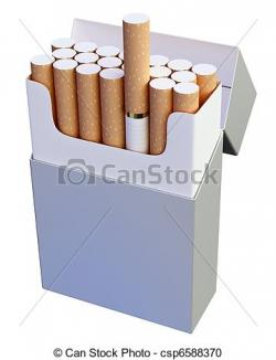 Cigarette clipart cigarette pack