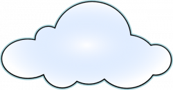 Drawn clouds svg
