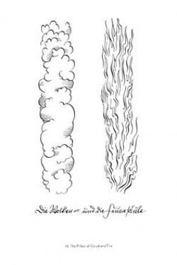 Clouds clipart pillar
