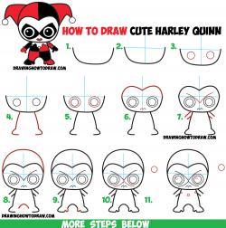 Drawn harley quinn