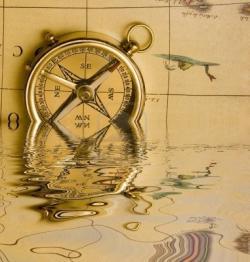 Drawn compass atlas