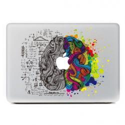 Drawn macbook cut apple