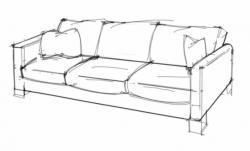 Drawn sofa easy