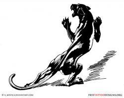 Drawn panther mean