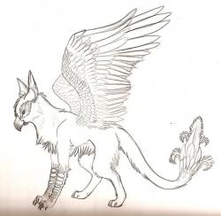 Drawn griffon supernatural creature