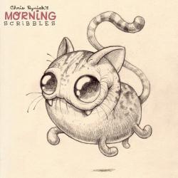 Drawn monster strange creature