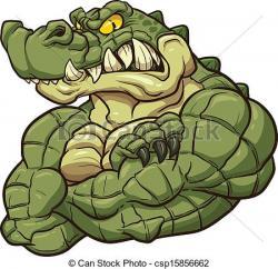 Crocodile clipart mascot